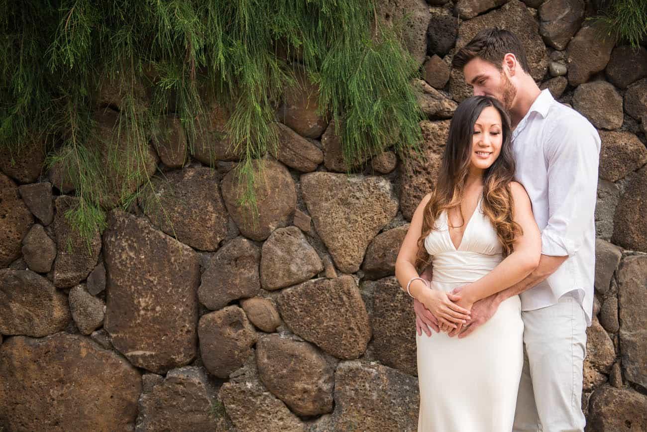 Hot Couple Hawaii Engagement