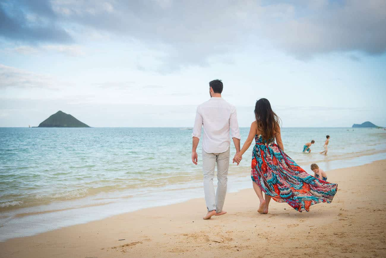 Kailua Hawaii Engagement