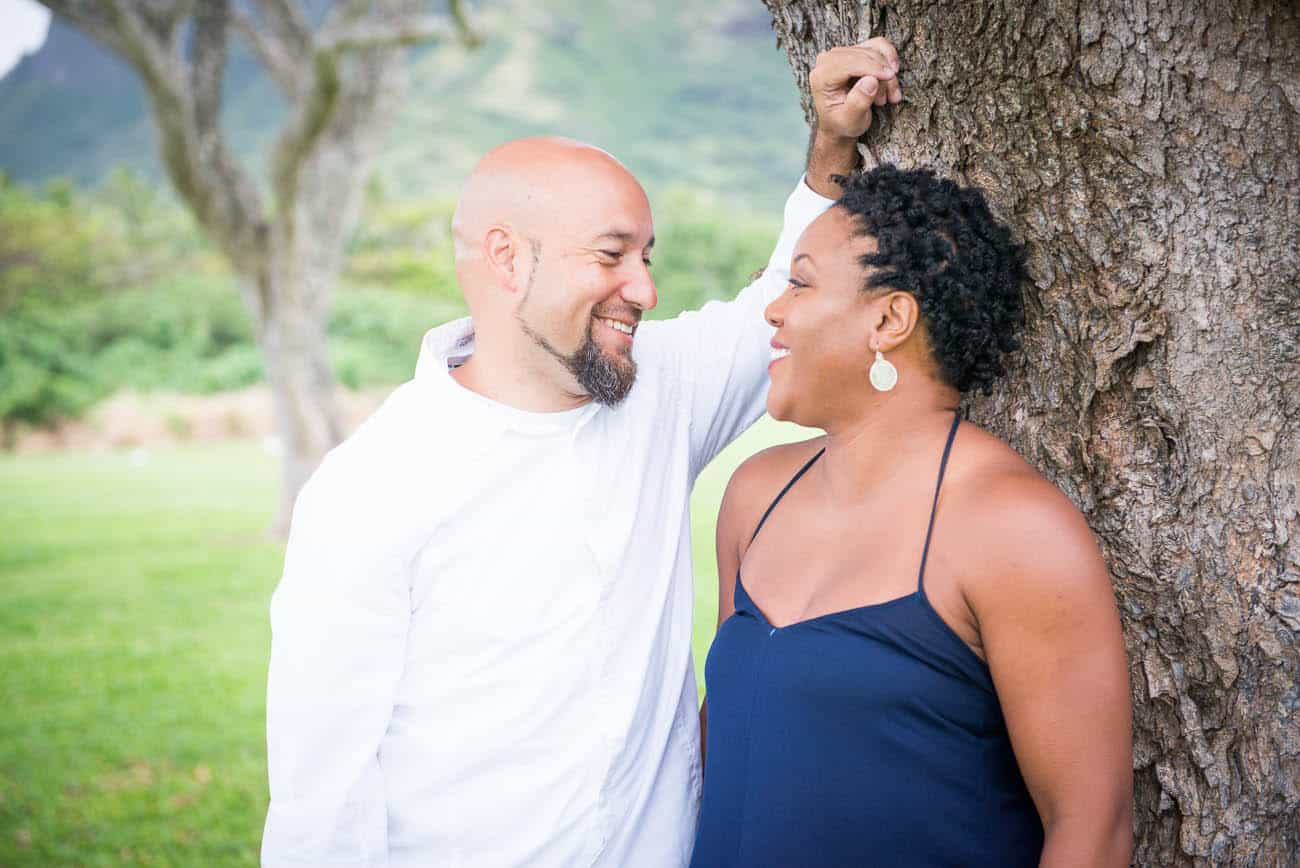 interracial engagement session photos