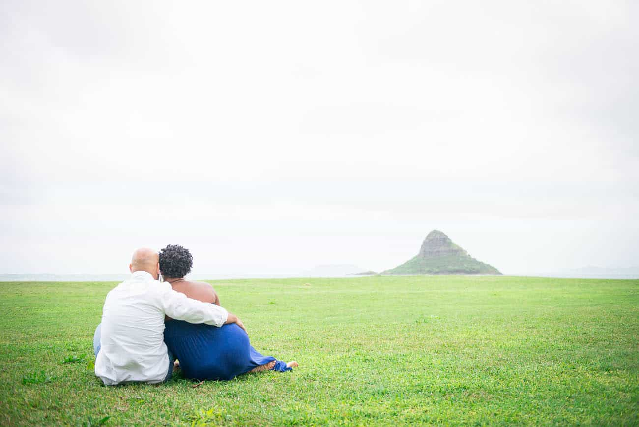 Kualoa Beach Park Engagement