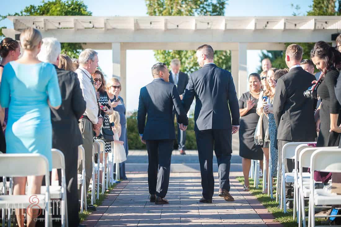 Lake Ontario Wedding ceremony