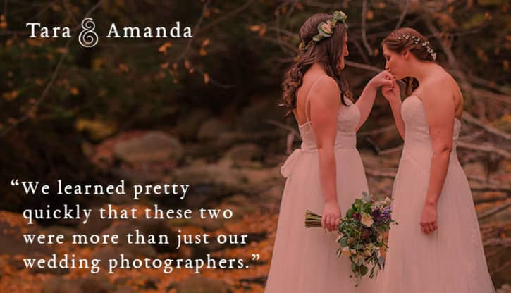 More than wedding photographers