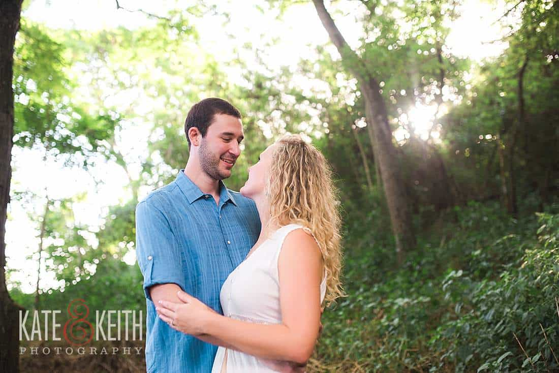 Kailua Engagement Photos forest
