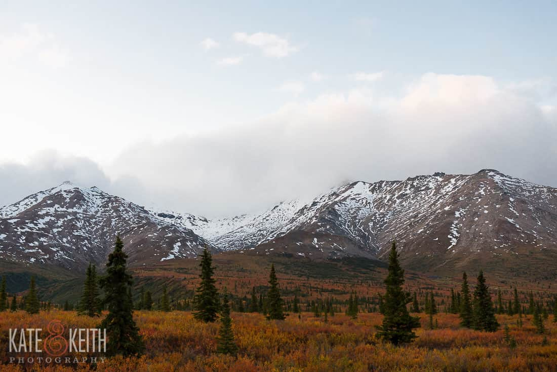 Mountains Autumn Alaska