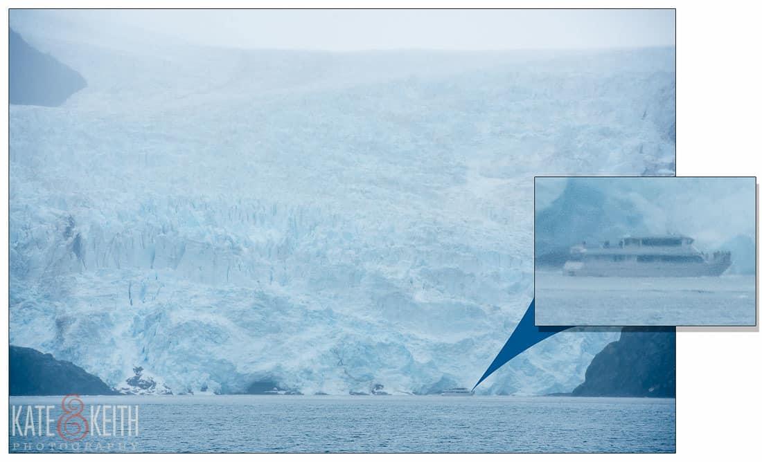 Kenai Fjords boat tour glacier Alaska National Park