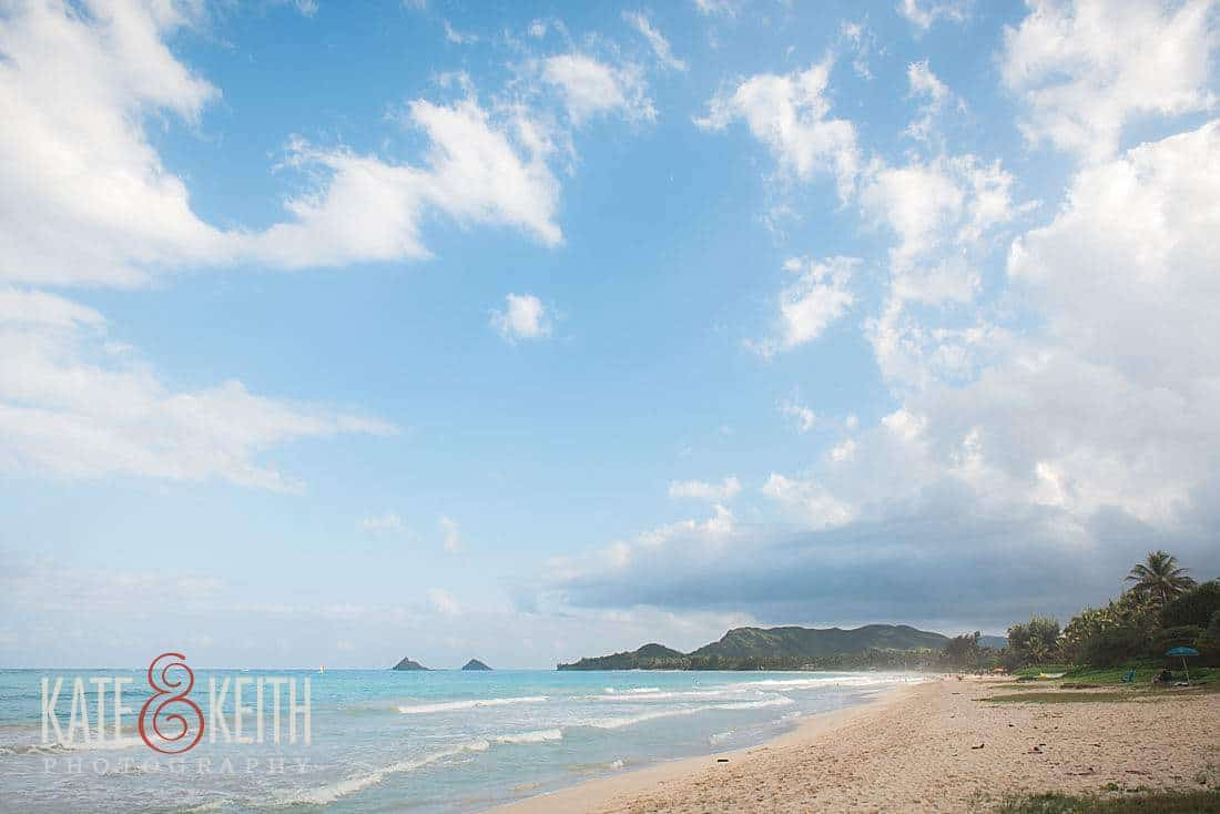kailua engagement session
