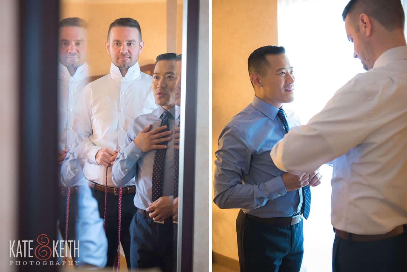 New York Wedding getting ready