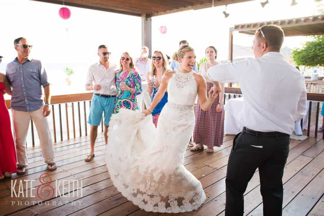 Caribbean Wedding Dancing Aruba