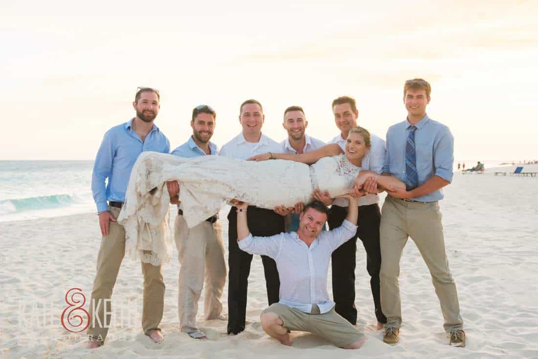 Caribbean Wedding Formal Pictures