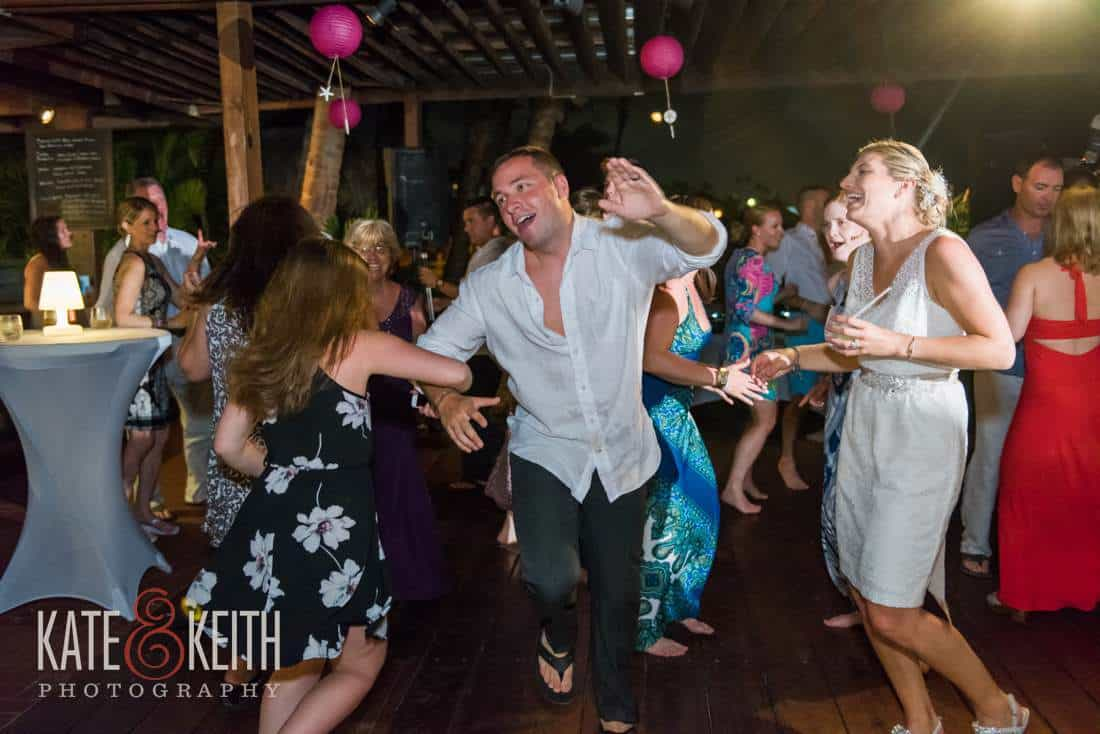 Caribbean Wedding Dancing