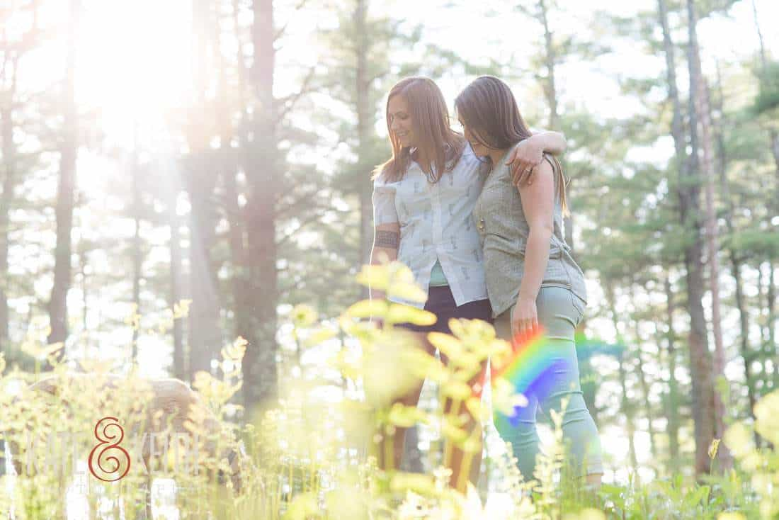 New Hampshire Same Sex Engagement Photos