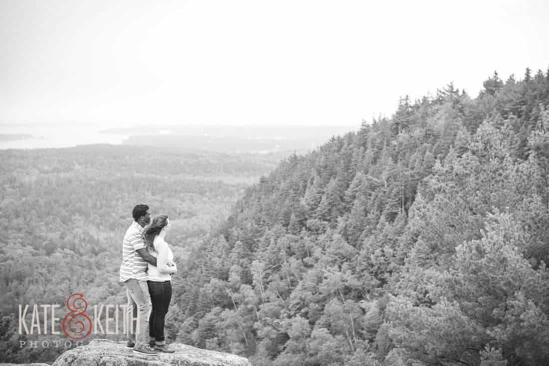 Acadia National Park Engagement Photography