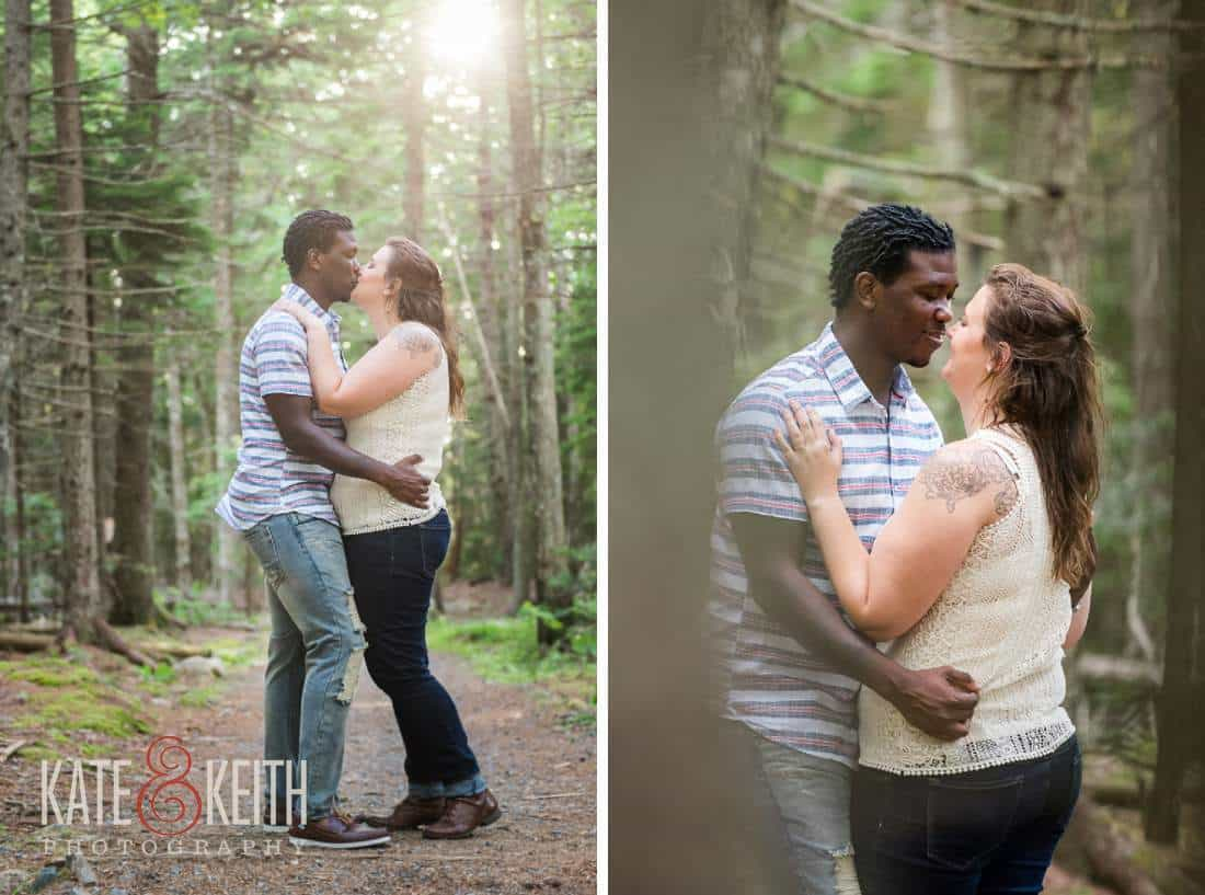 Engagement photos in Maine