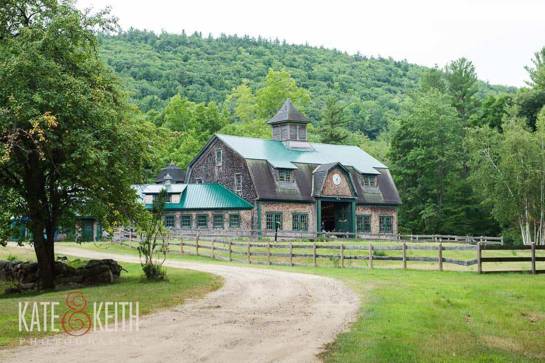 New Hampshire Barn Wedding Venue