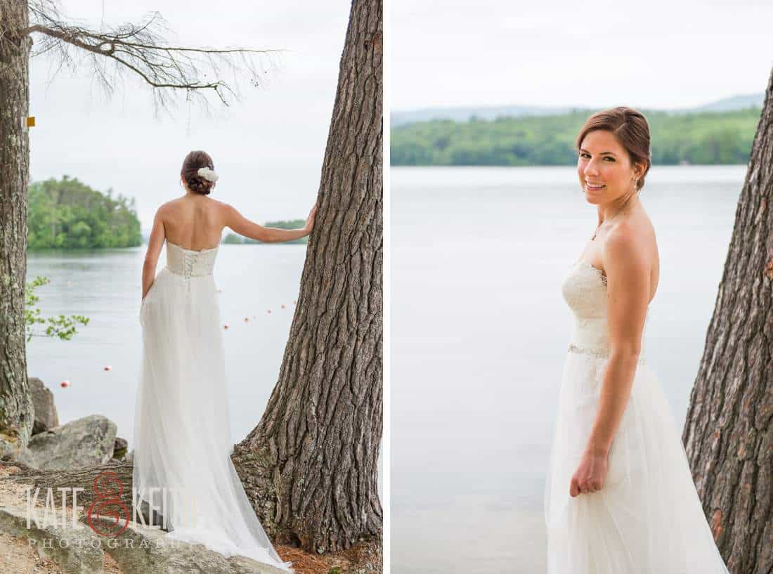 Sqam Lake Wedding Bride