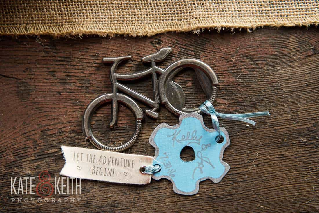Rustic Bicycle Wedding Favor