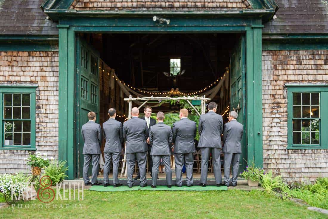 Farm Wedding Groomsmen
