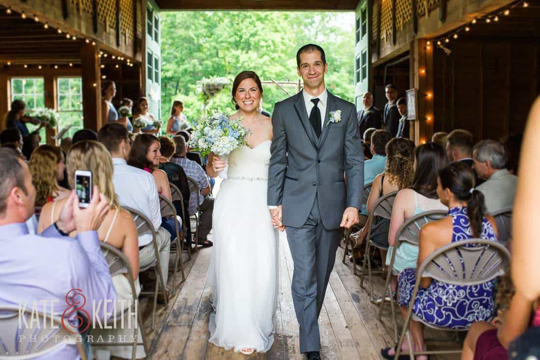 Bride Groom Barn Wedding Venue New Hampshire