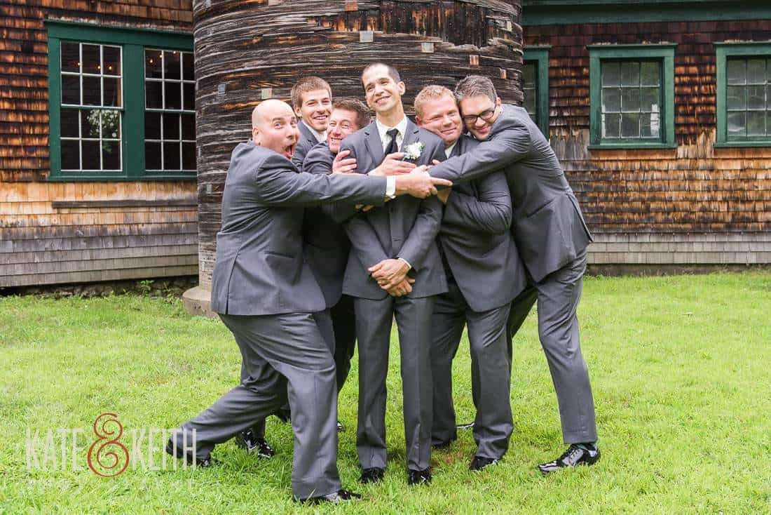 Groom Formals Barn Wedding Venue New Hampshire