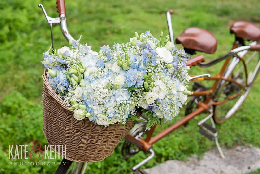 Wedding Bicycle Made for Two