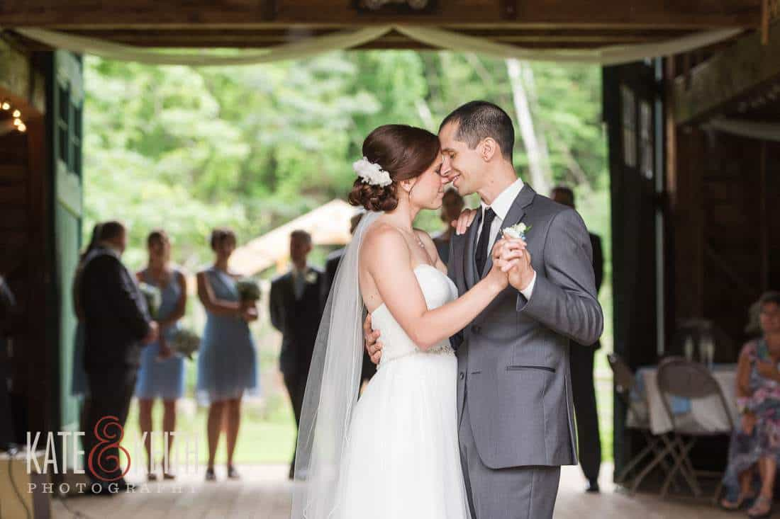 First Dance Farm Wedding
