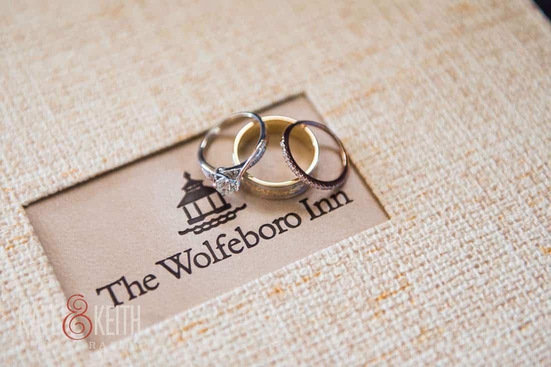 Wolfeboro Inn wedding rings Richter's Jewelry