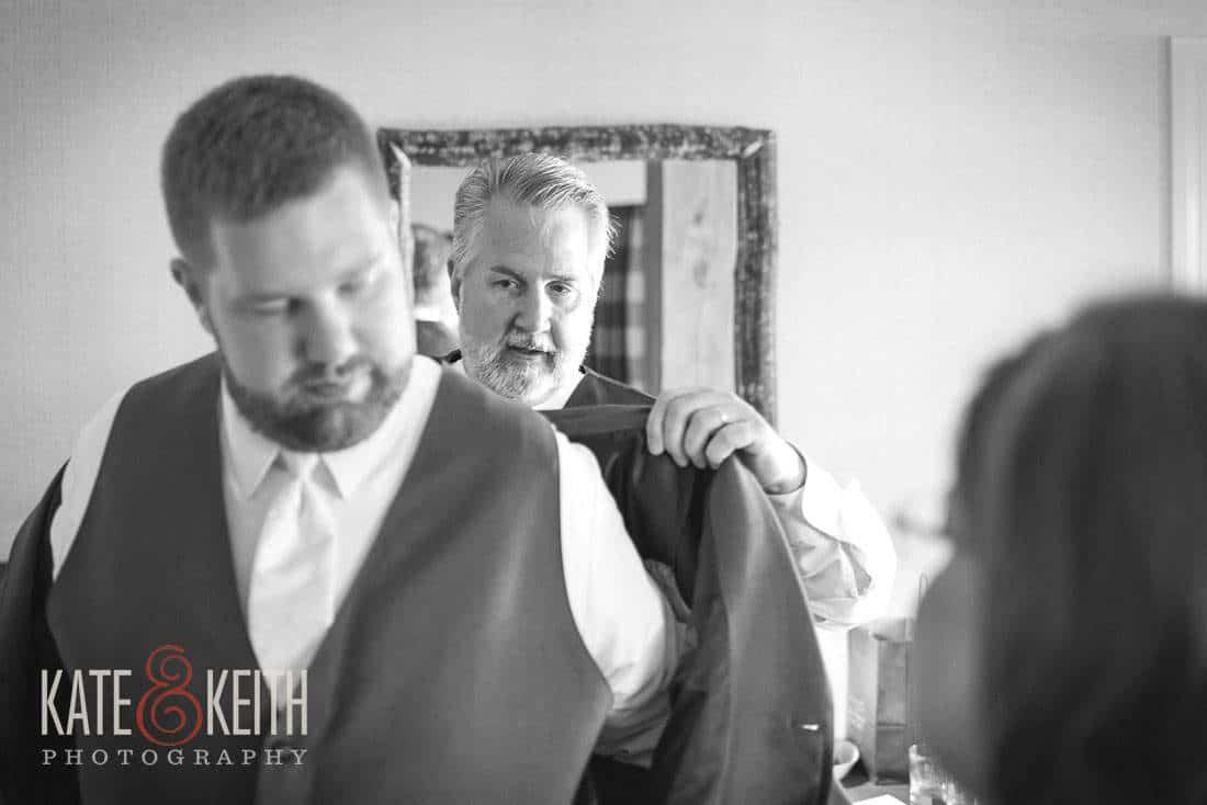 Wolfeboro Inn Wedding Groom
