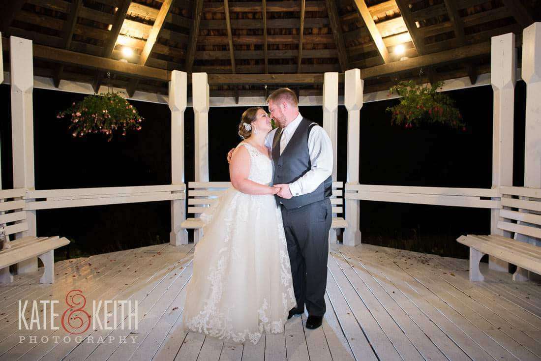 Wolfeboro Inn Gazebo Wedding Photo