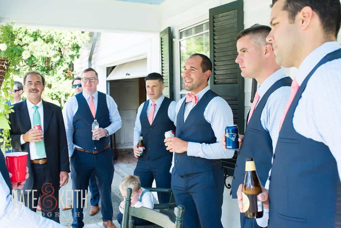 Casual Wedding Party Photography