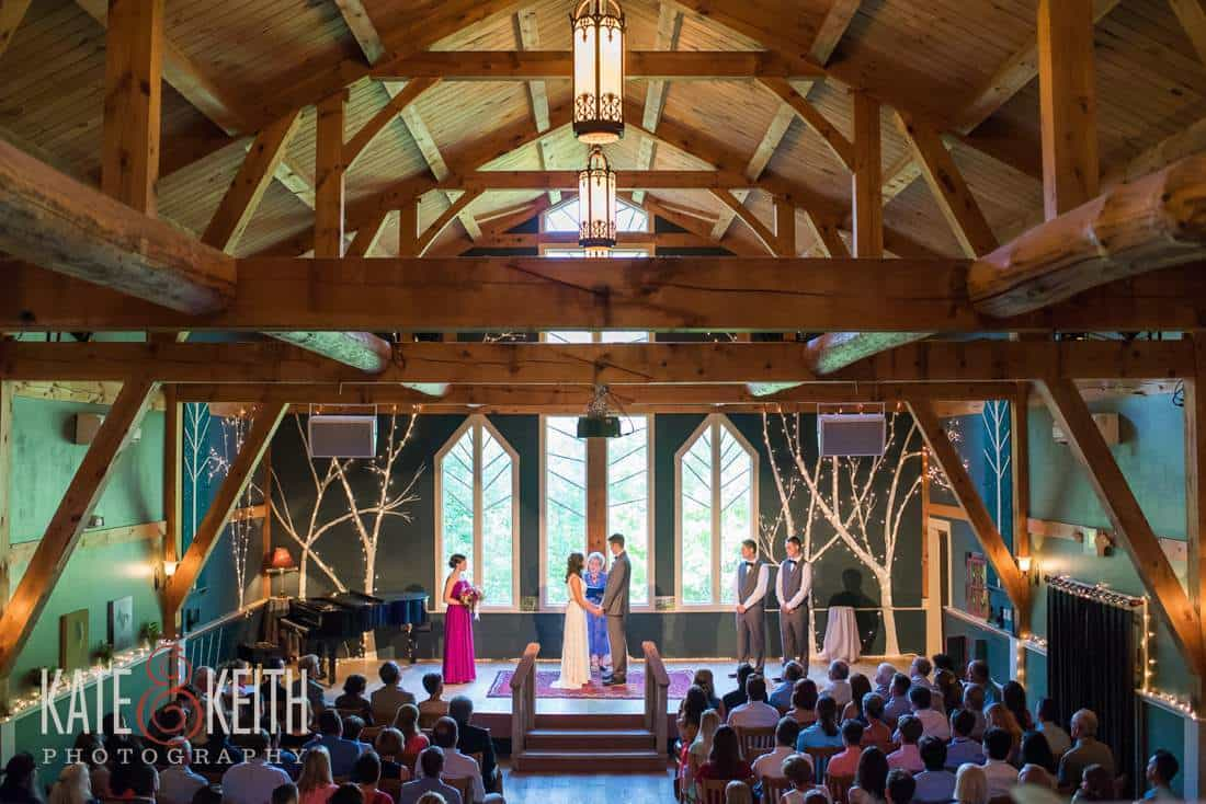 Stone Mountain Arts Center Wedding Ceremony