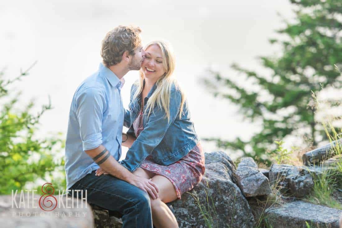 Bar Harbor Engagement Pictures