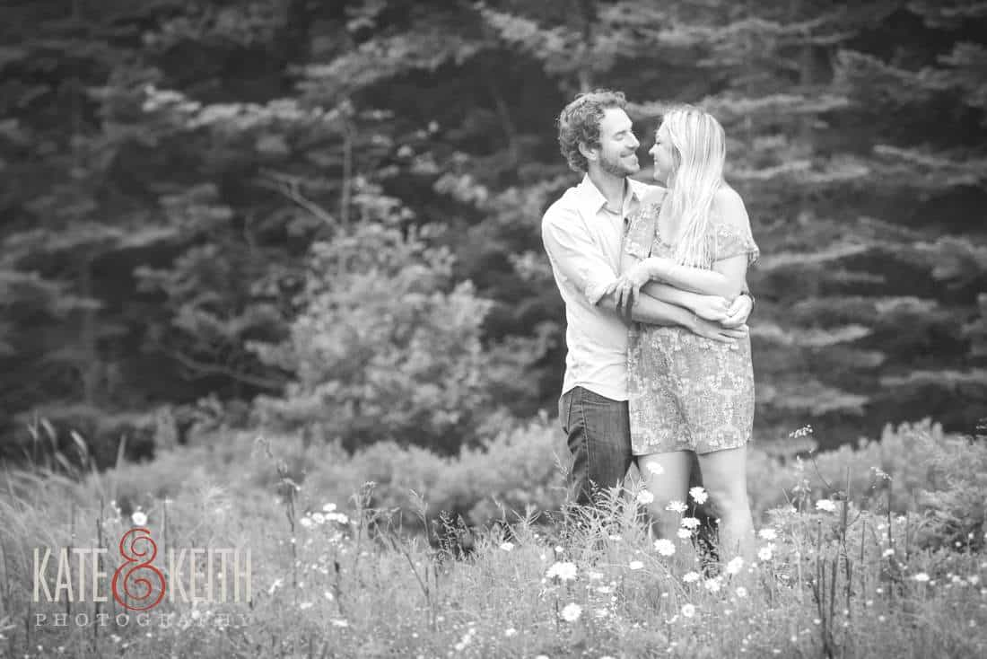 Acadia National Park Hunters Cove Engagement Photos