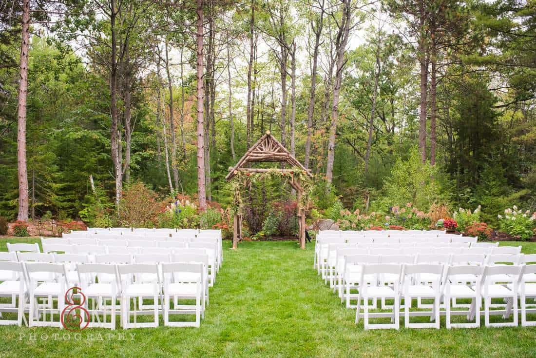 Maine Seacoast Wedding Venue Hidden Pond