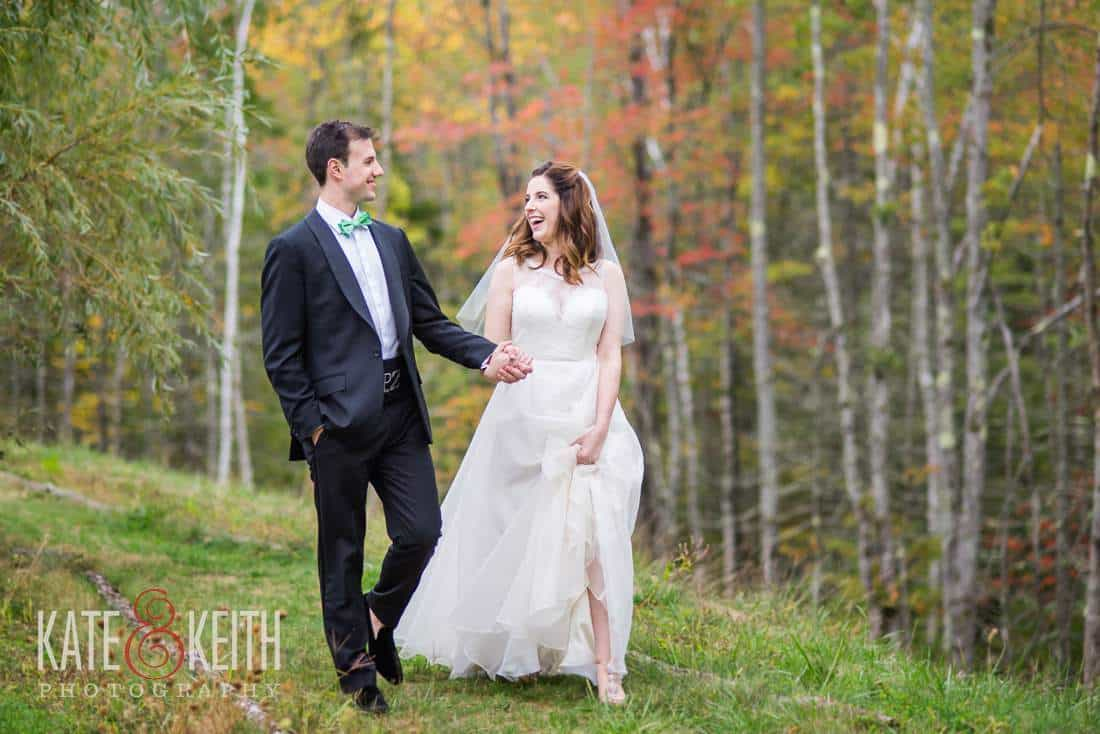 Hidden Pond Maine wedding location