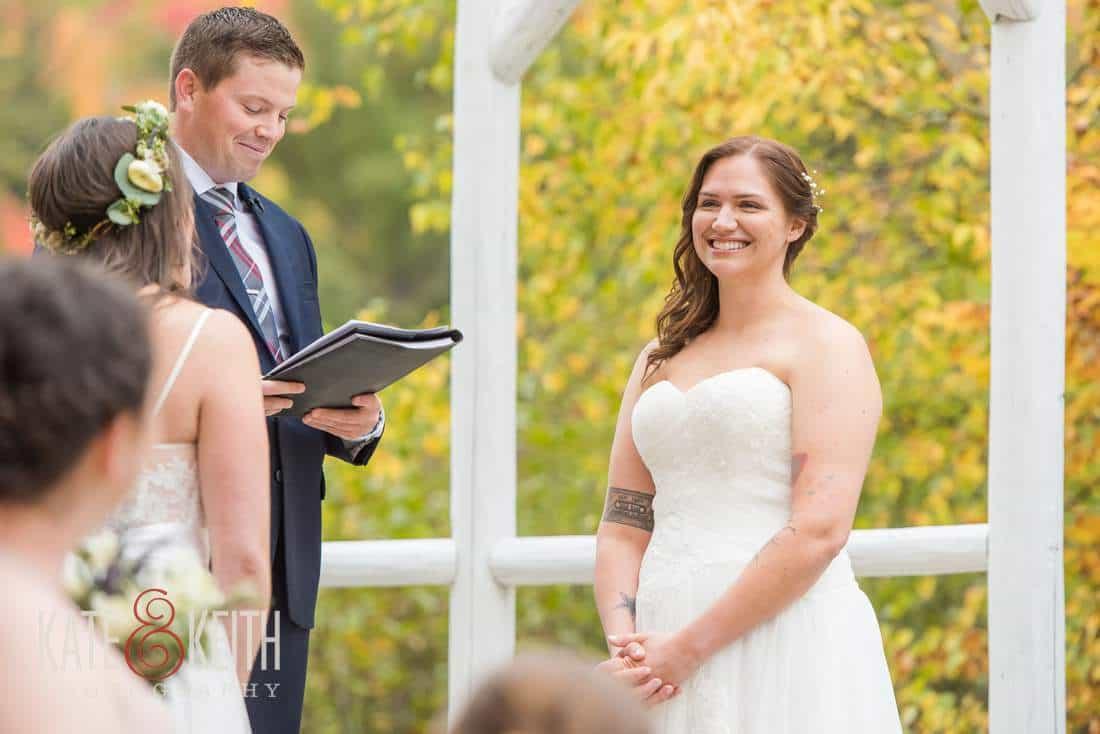 Waterville Valley Resort Wedding Ceremony Location