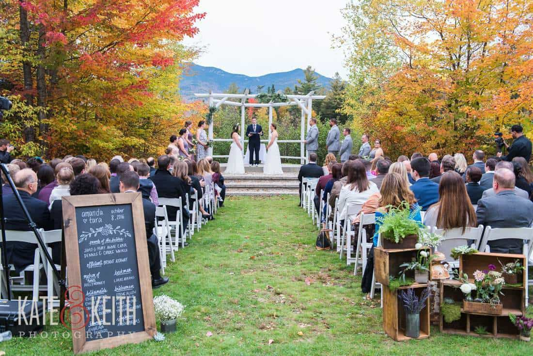 Waterville Valley Resort Wedding Ceremony Location