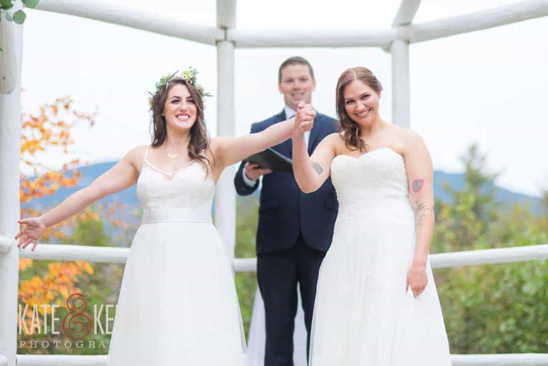 Two Brides Same Sex Wedding couple
