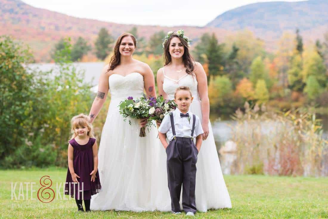 Two Brides Dresses Same Sex Wedding