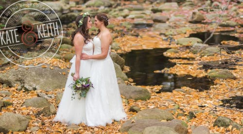Same Sex Waterville Valley Wedding
