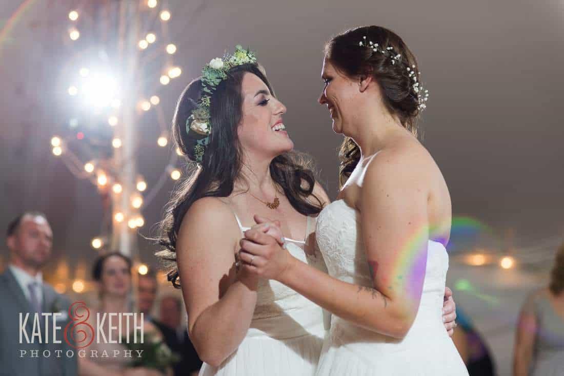 Lesbian Wedding First Dance