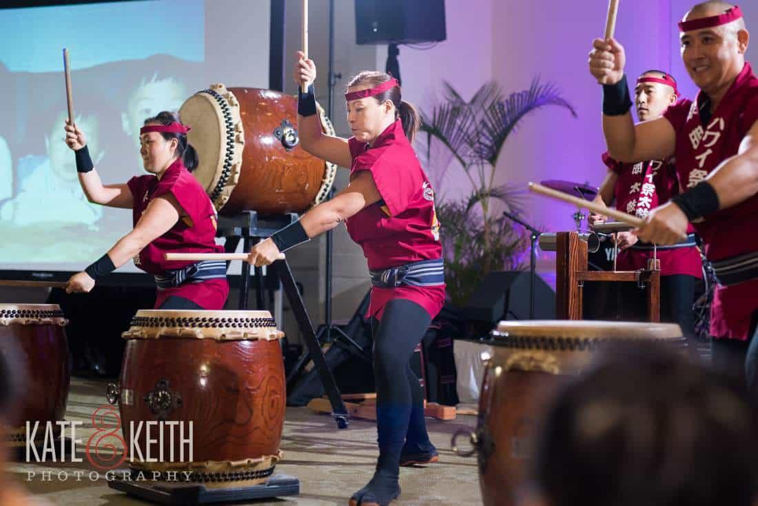 Hawaii Weddings Drumming At Wedding