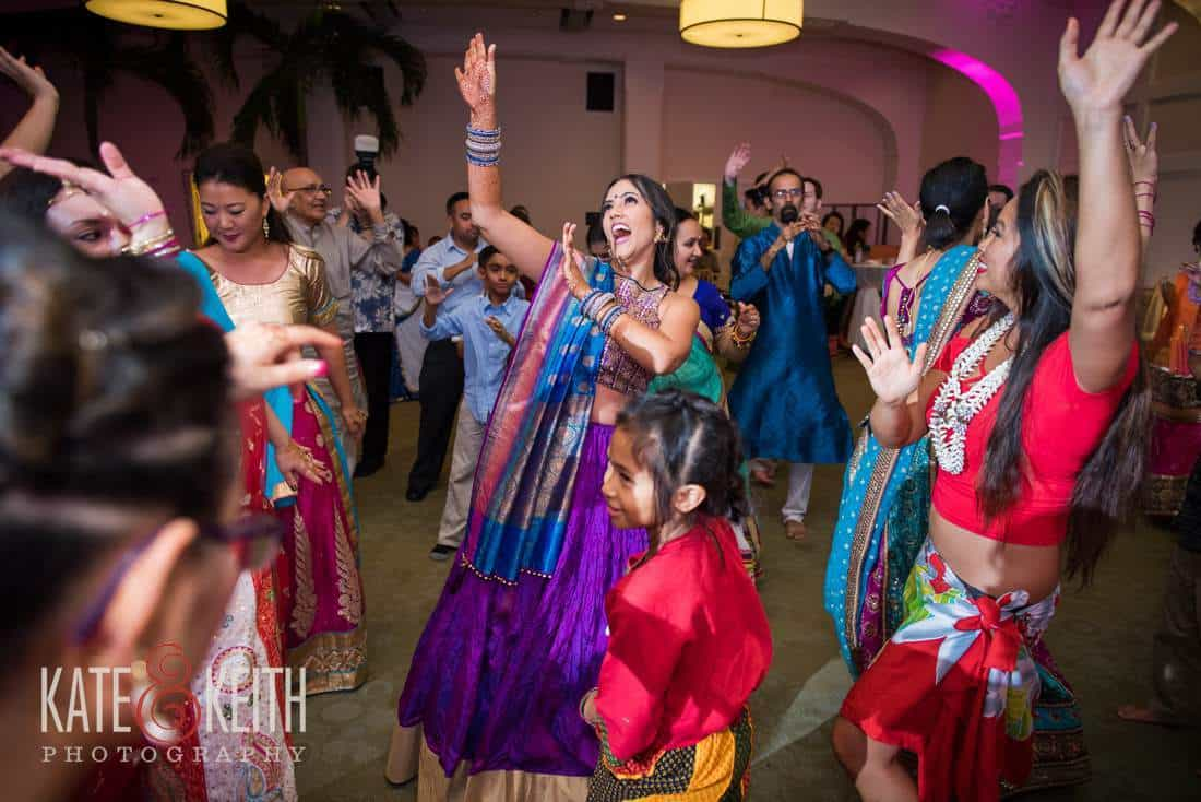 Indian Dancing at wedding