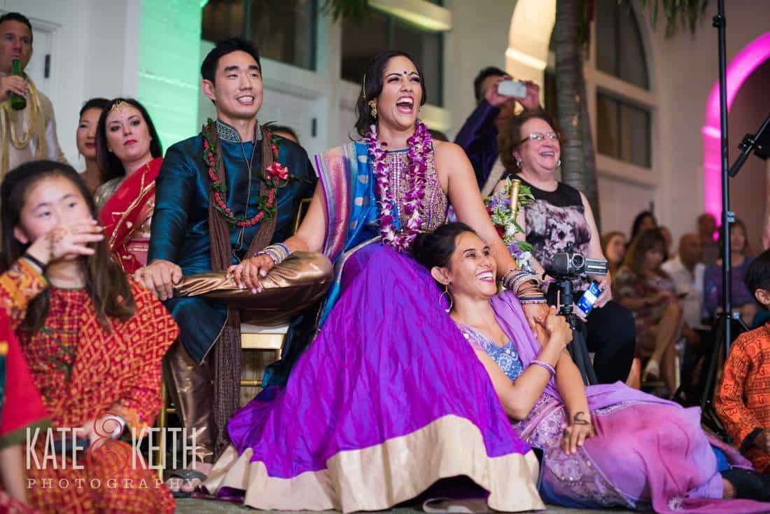 Indian Bride In Hawaii