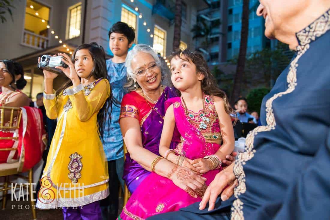 Kids enjoying kid friendly wedding