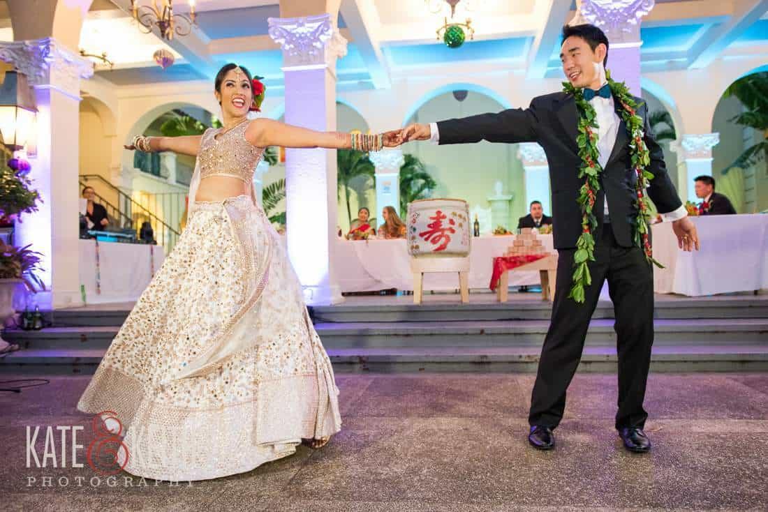 Cafe Julia wedding dancing