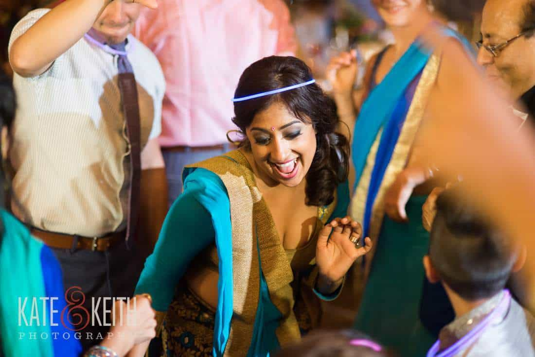 Dancing at an Indian Wedding