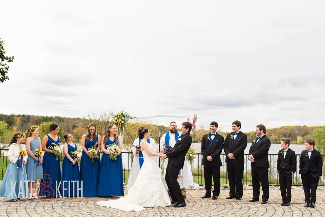 Pennsylvania Lakeside Wedding