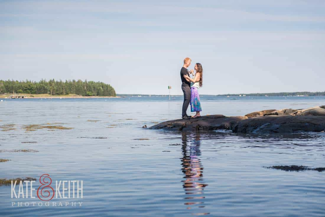 Mount Desert Island Engagement Photography