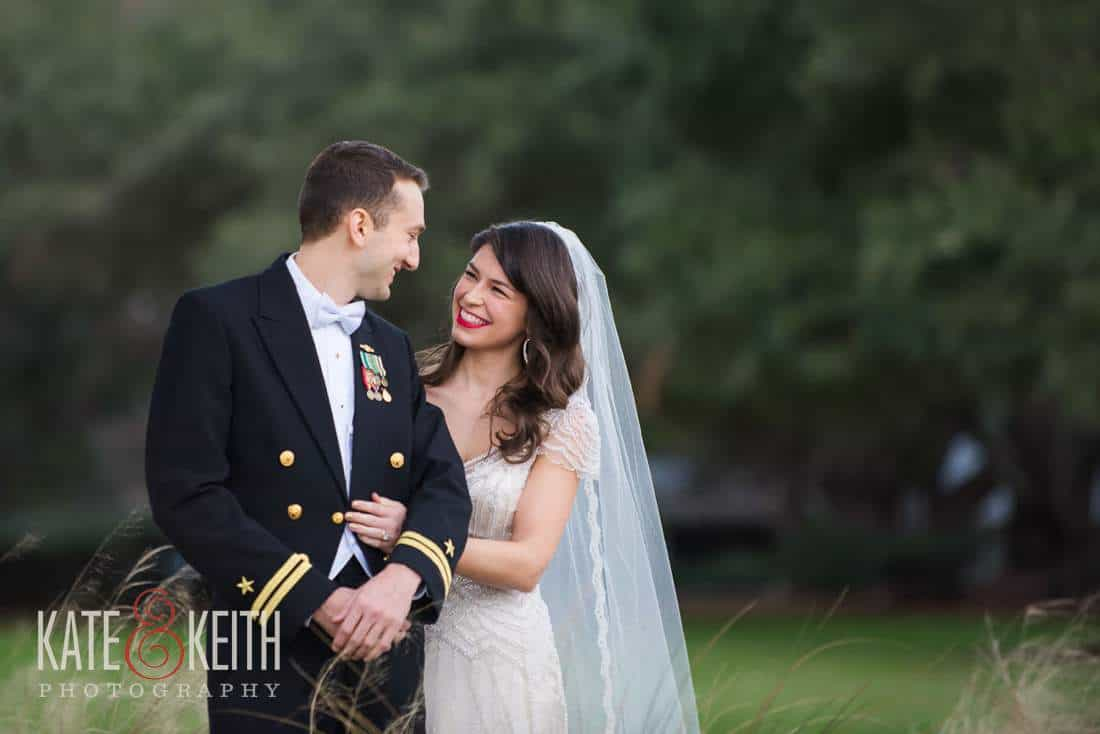 Navy Wedding First Look Military