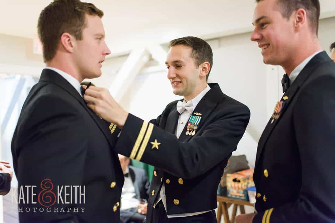 Navy Wedding Preparation